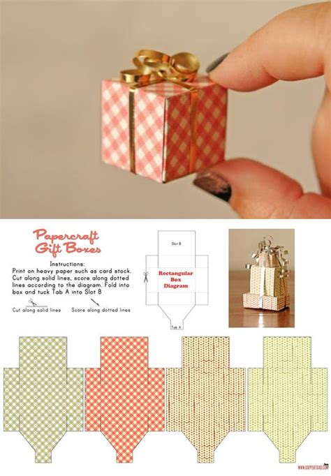 17 best ideas about paper box template on pinterest