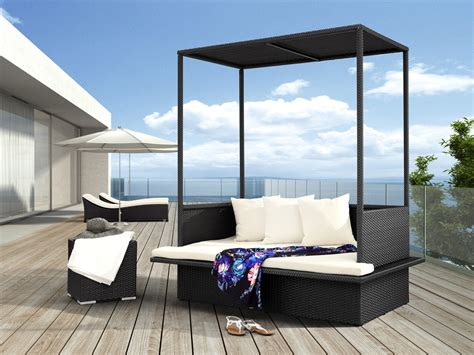 patio bed furniture catch a mid day nap on these outdoor patio daybeds