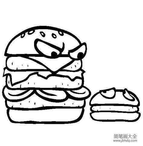 chicken sandwich coloring page buzz coloring 生日蛋糕彩色简笔画 图片素材