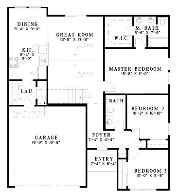 english cottage house plan with 1300 square feet and 3 1300 sq ft house plans house plans from 1300 to 1400