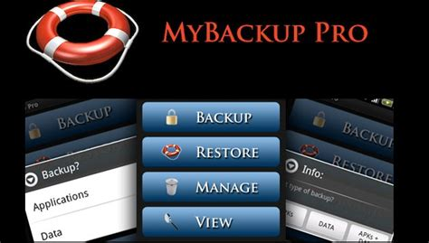top best backup for android one should use in 2017 - Mybackup Pro Apk