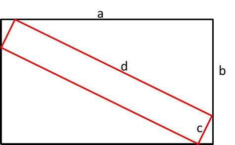 geometry fitting rectangle inside another rectangle in