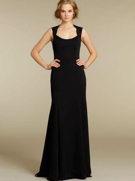 Floor Length Black Dress by Floor Length Black Dress
