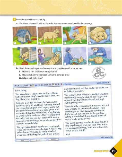 libro out and about a libro de ingles 3 176 medio 2014 hojas de respuesta incluidas