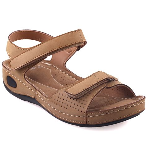 comfortable walking sandals unze womens nuty comfortable walking sandals uk size 3 8