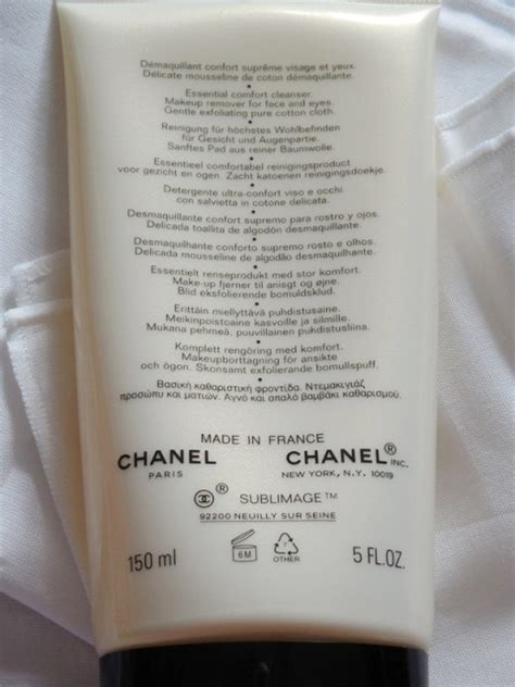 chanel essential comfort cleanser chanel sublimage essential comfort cleanser review