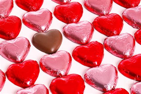 chocolate hearts chocolate hearts photograph by richard