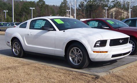 performance white 2005 mustang v6 the mustang source