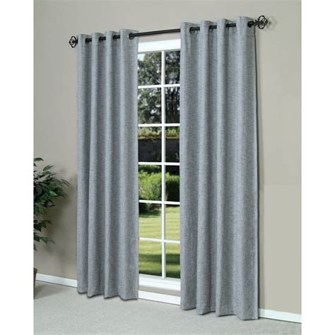 grommet top curtains 84 commonwealth home fashions highland tweed curtains