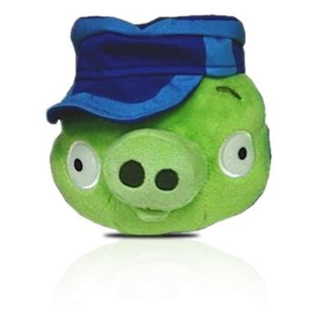 angry birds plush 6 inch pig with postman hat 979 99