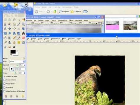 tutorial gimp español tutorial gimp espa 241 ol 10 abrir y guardar imagen youtube