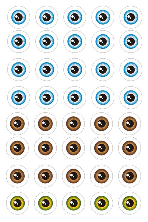 imagenes de ojos para muñecos plantillas para ojos ojos para los mu 241 ecos patrones