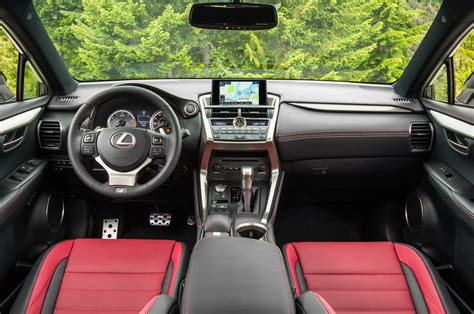 Lexus F Sport Interior by 2015 Lexus Nx 200t Nx 300h Drive Photo Gallery