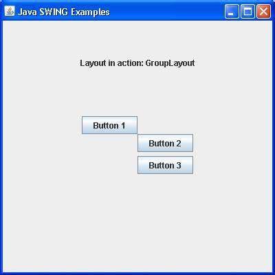 swing layout swing grouplayout class