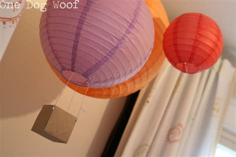 How To Make Paper Balloon Lanterns - air balloon lantern paper lanterns battery candles