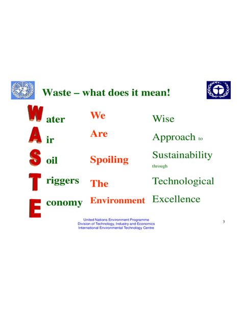Integrated Solid Waste Management Ppt Free Download Waste Management Ppt Free