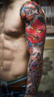 colorful sleeve tattoos 47 sleeve tattoos for design ideas for guys