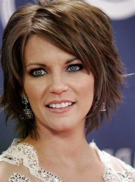 brunette womens shaggy layered short haircuts shag hairstyles beautiful short layered shag hairstyles