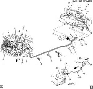 Brake Line Diagram For 2000 Buick Century 2000 Buick Century Fuel Line Diagram 2000 Free Engine