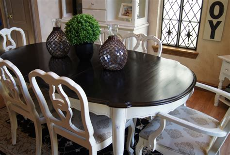 how to stain a dining room table touring through blogland confessions of a serial do it