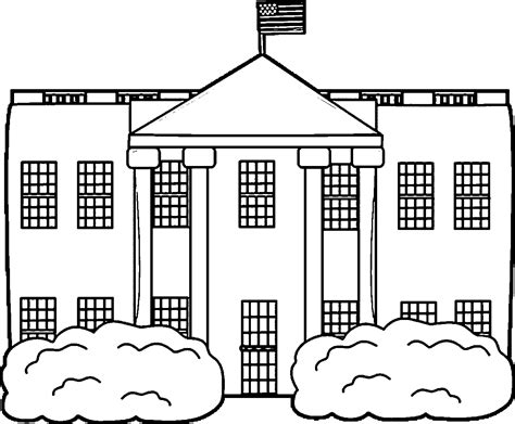snowy house coloring pages white house coloring page coloring home