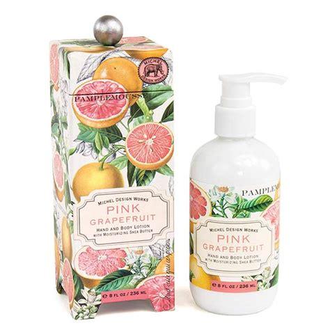 michel design works pink grapefruit home fragrance diffuser pink grapefruit lotion by michel design works