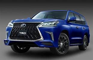 Lx Lexus Trd Introduces Aero Kit For Lexus Lx 570 Performancedrive