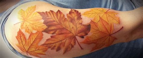 maple leaf tattoo designs 80 maple leaf designs for canadian and