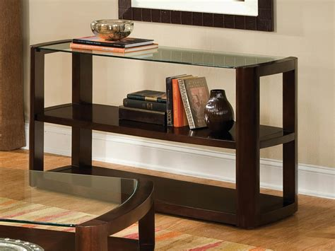 modern console table with storage decorating modern