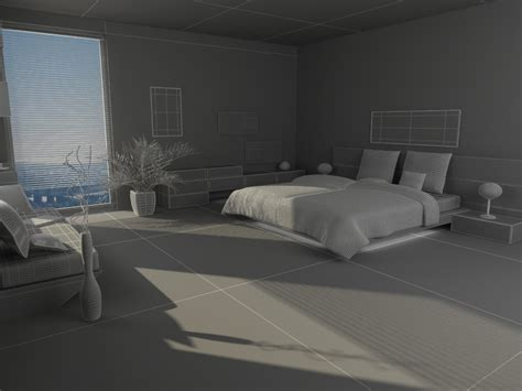 bedroom scenes bedroom scene 03 3d model max 3ds c4d 3dm cgtrader com