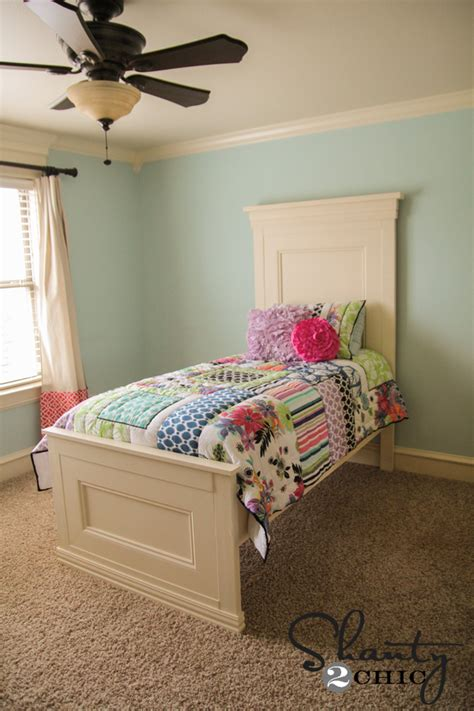 diy twin bed amazing diy twin bed shanty 2 chic