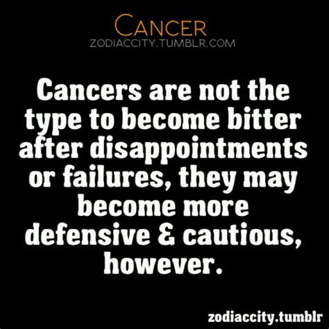 cancer zodiac sign quotes quotesgram