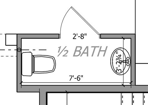 small powder room floor plans images of small powder rooms floor plan of the room