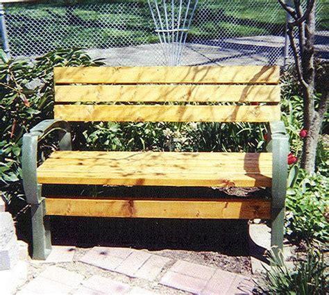 outdoor bench kits garden bench seat using 1 2x4basics bench ends green