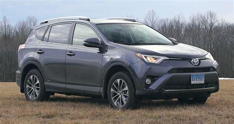 Toyota Suv Rav4 Toyota Rav4 Hybrid Most Fuel Efficient Suv Tested