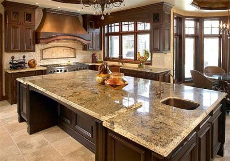 granite kitchen countertop ideas elegant kitchen design with granite countertops ideas