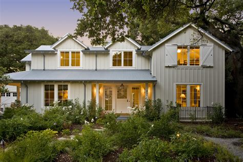 modern farmhouse menlo park board and batten exterior farmhouse with country batten