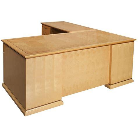 Maple L Shaped Desk Used 30 215 66 24 215 48 Left Return Veneer L Shaped Desk Maple National Office Interiors And Liquidators
