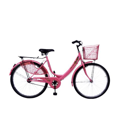 hero on a bicycle hero miss india gold 26 bicycle pink available at snapdeal for rs 5900