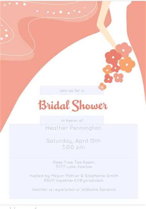 bridal shower free 12 mesmerizing free bridal shower flyer templates demplates
