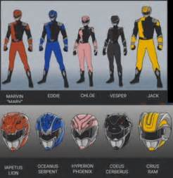 Rpg Gaming Table Power Rangers Hyperforce Suits Revealed That Hashtag Show