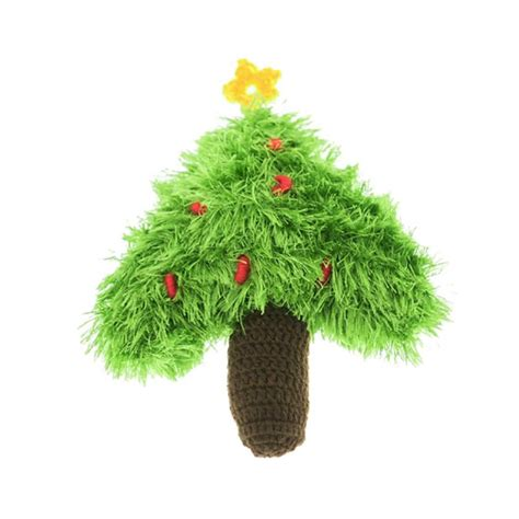 oomaloo handmade holiday christmas tree dog toy baxterboo