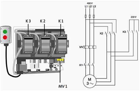 comparision of dol and delta motor starting