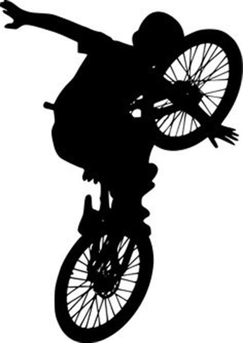Clip Sepeda Bmx Black bmx silhouette clip 16