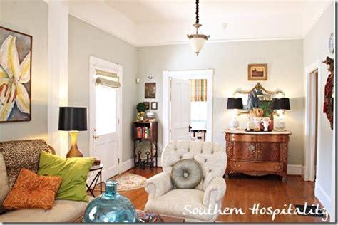 front door in living room living room to front door