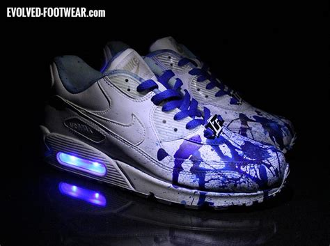 angelus paint air max 90 custom painted nike air max 90 project 6 blue ink