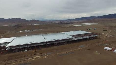 Tesla Giga Factory Tesla Gigafactory As Photographed By Drone May 17 2015