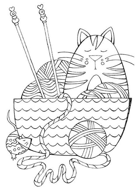 coloring pages for yarn i dream of yarn a knit and crochet coloring book