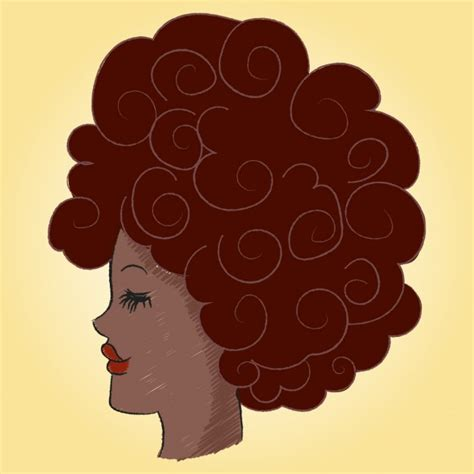 afro hairstyles vector afro hair vector free download