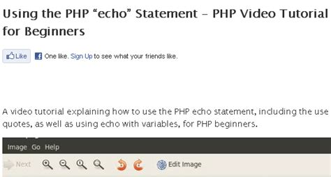 tutorial php echo 30 php tutorials for beginners web3mantra
